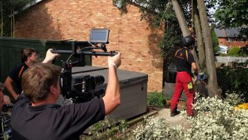 A Day Filming With Timberwolf